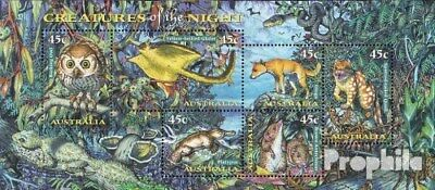 complete.issue. Never Hinged 1997 Nachtakti Mild And Mellow Unmounted Mint Loyal Australia Block25
