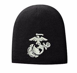 USMC United States Marine Corps - EGA Eagle Globe   Anchor Beanie ... 6bd5827aa4b