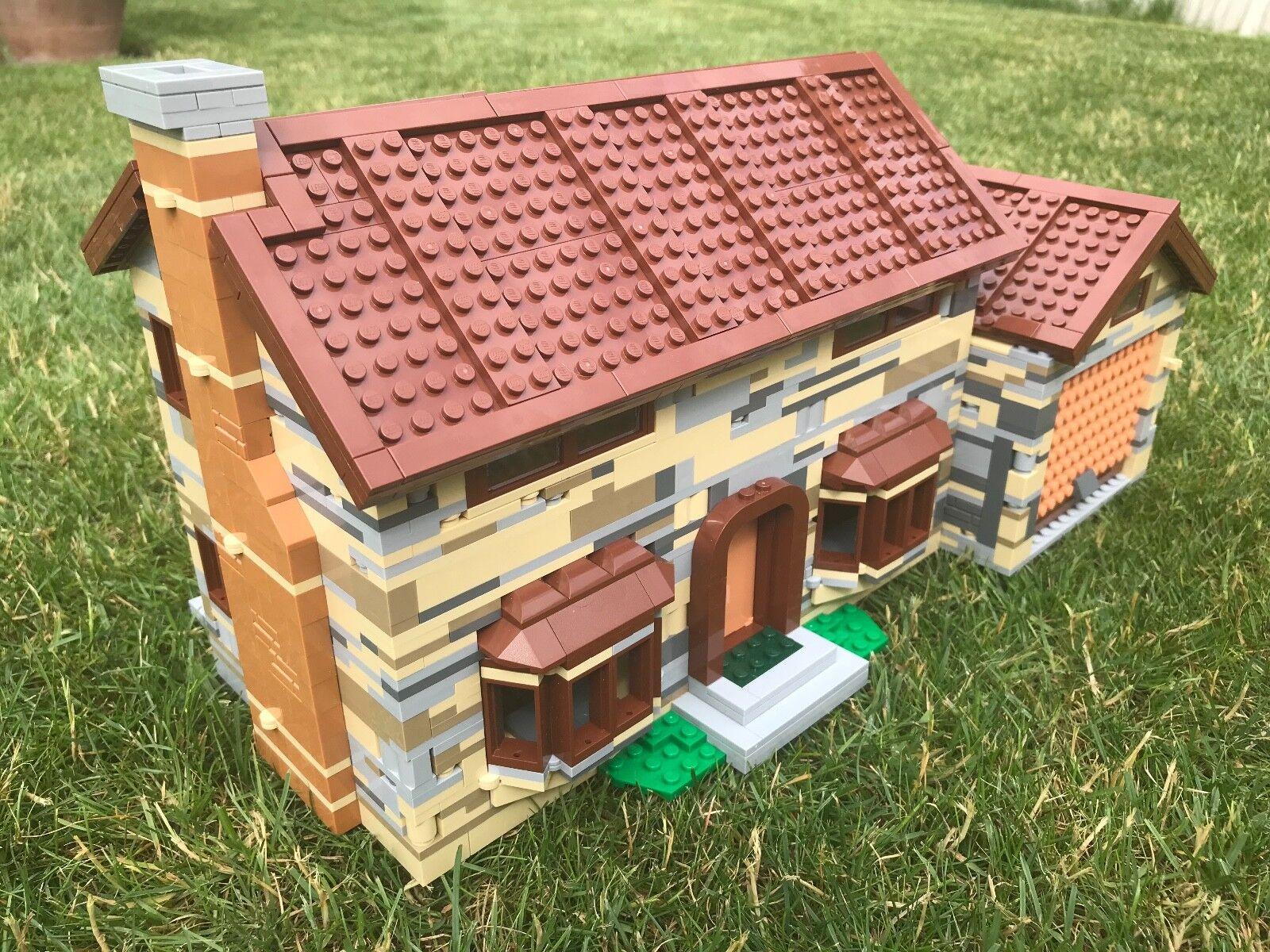 Lego piezas nuevas originales-inglés Muro De Piedra Casa-construido a la instrucción 71006