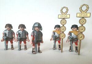 PLAYMOBIL ROMAIN EGYPTE soldat galère romaine legionnaire romain
