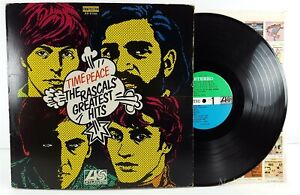 The Rascals Time Peace Greatest Hits 1968 Lp Record