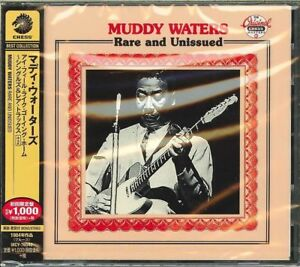 MUDDY-WATERS-RARE-AND-UNISSUED-JAPAN-CD-Ltd-Ed-B63