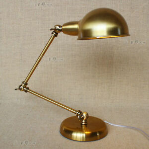 Industrial adjustable atelier task desk table lamp black for Atelier task floor lamp bronze