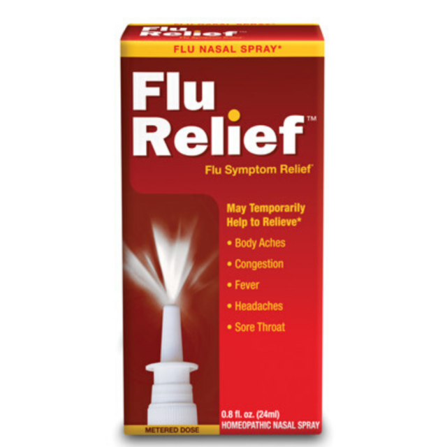 Natra-Bio Flu Relief Nasal Spray