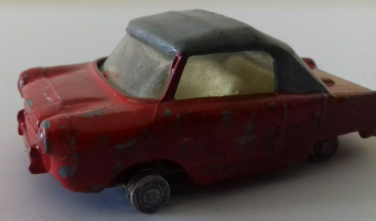 Tri-ang Spot On 119 Meadows Frisky Sport Repaint Playworn Unboxed Diecast Model