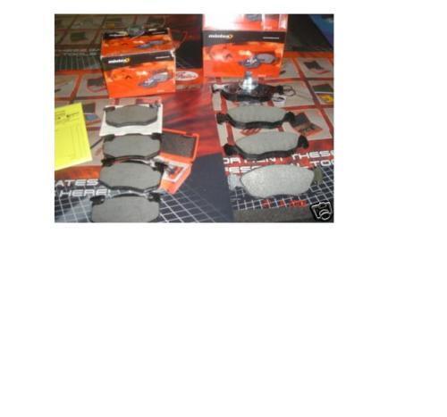PEUGEOT 106 GTI RALLYE plaquettes de frein avant Mintex Arrière
