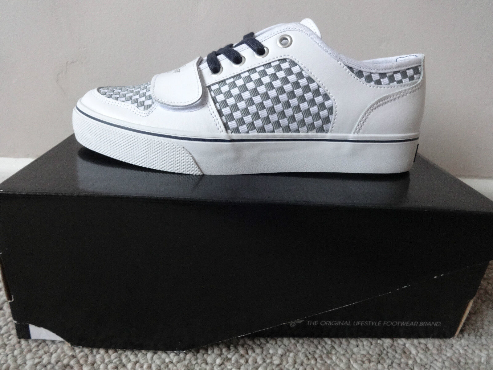 Creative Recreations Cesario UVCR4LO14 mens shoes trainers white new with box.