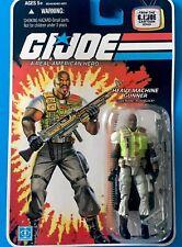 Roadblock Heavy Machine Gunner COMIC GI JOE COBRA 25th Anniversary Hasbro MOC