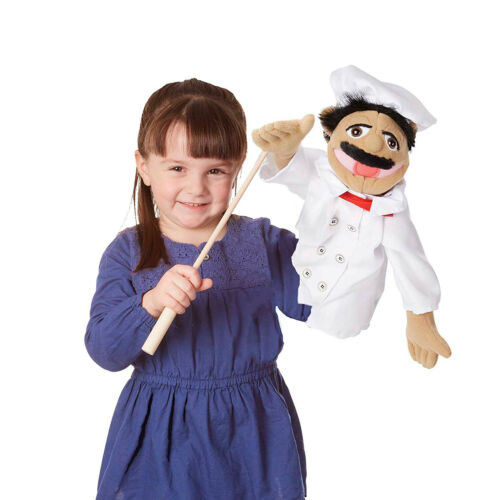 Ventriloquist Puppet Gimmick Dummys Hand Puppets For Kids Adults Professional
