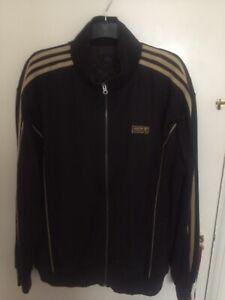 Adidas-Muhammad-Ali-Gold-And-Black-Tracksuit-Size-XL