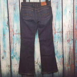 LUCKY-BRAND-Women-039-s-Jeans-Sweet-N-Low-Boot-Cut-Dark-Wash-Size-6-28L-x-31-5