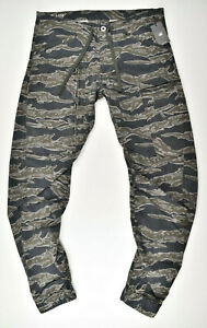 G-STAR-RAW-Powel-Qane-3D-Tapered-Cuffed-W31-L34-Cargohose-Tiger-Camouflage