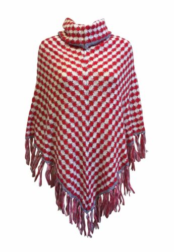 NEW Cowl Neck Soft Winter Poncho *UK Pro-Seller*Fast Dispatch* Ladies Knitwear
