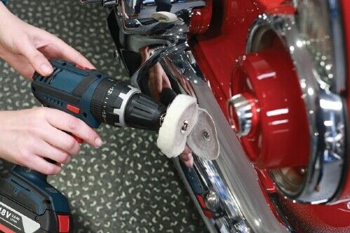 Soft Metal Compound for Driver Brass Copper Metal Polishing Paste Set 3pc