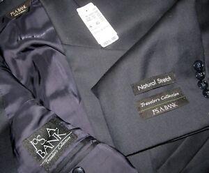 talla R Jos A hombre 575 Traveler's Bank de Chaqueta 2 46 azul de para botones 7623930158 Collection lana OOrZwx