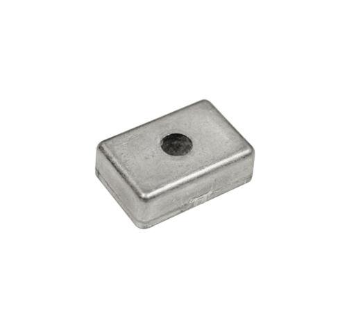 orig Quicksilver Blockanode Block Anode Aluminium 97-875208 Mercury 4PS 5PS 6PS