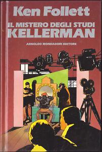 LIBRO-Ken-Follet-Il-Mistero-degli-Studi-Kellerman-RIGIDA-MONDADORI-RARO-1987