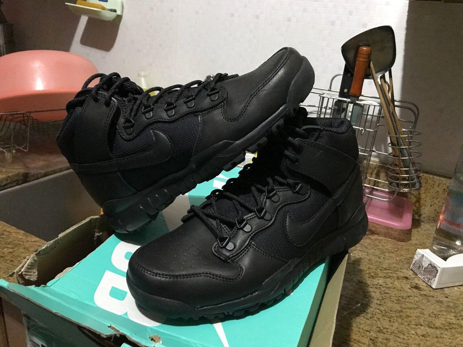 Nike sb canestro alto lustrascarpe noir 536182 001 uomini