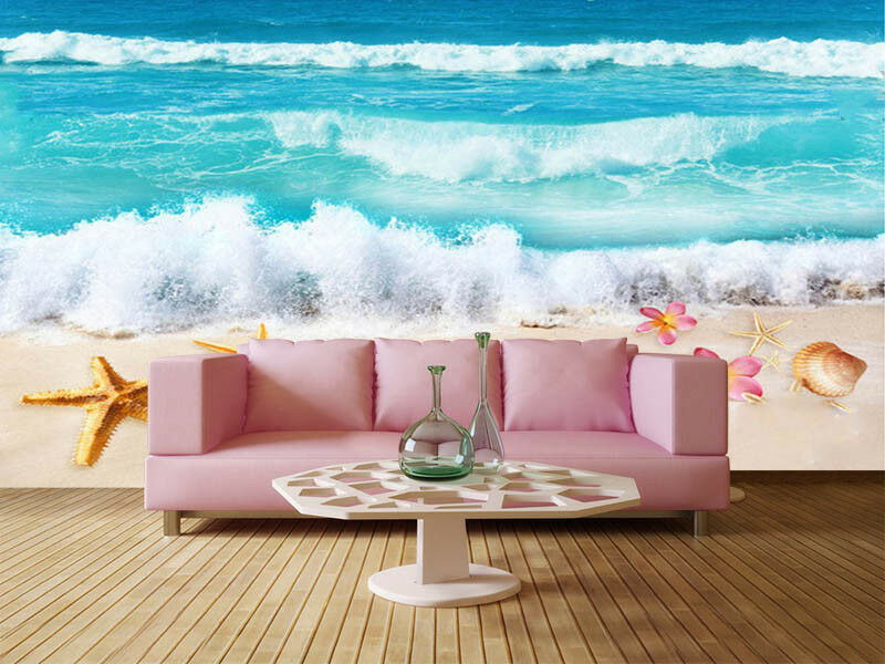 Falls And Pulpy Star 3D Full Wall Mural Photo Wallpaper Printing Home Kids Decor