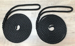 Mooring-Ropes-Spliced-Warps-Lines-Yachts-Canal-10mm-14mm-Pack-of-2