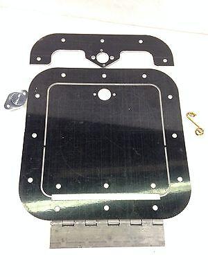 Access Panel Kit Black 6in x 14in ALLSTAR PERFORMANCE