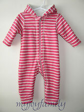 4446277e0b62 Hanna Andersson Two in One Reversible Baby Bunting Apple Red 60 2-6 ...