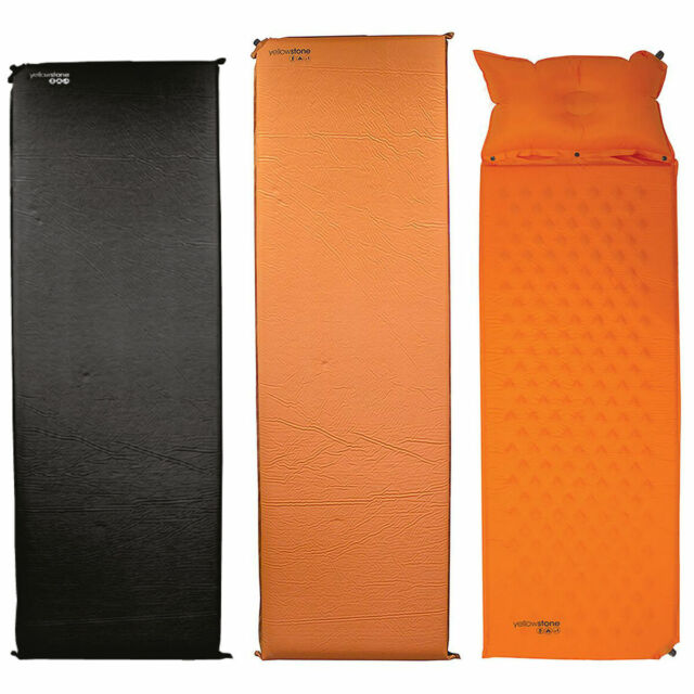 Yellowstone simple 2.5/10cm Auto Gonflant Tapis Camping Matelas Camp Lit Oreiller