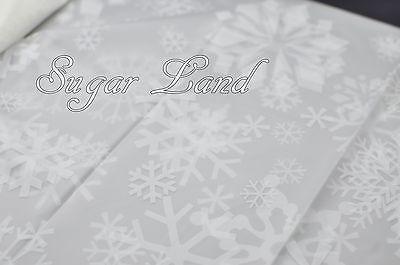 Disney Frozen Birthday Queen Elsa Anna Table Cover-Snow Flakes Party Supplies