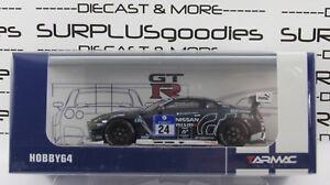 Tarmac-Works-Hobby64-NISSAN-GT-R-NISMO-GT3-Nurburgring-24H-PS4-Gran-Turismo-24