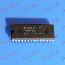 1PCS Audio D/A Converter IC BURR-BROWN/BB DIP-28 PCM58P
