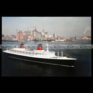 php-00250-Photo-SS-FRANCE-FRENCH-LINES-NEW-YORK-1960-039-S-PAQUEBOT-OCEAN-LINER