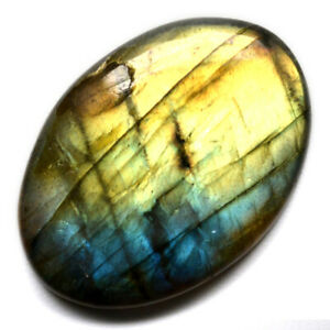 Cts-28-75-Natural-Fire-Labradorite-Cab-Oval-Cabochon-Loose-Gemstone
