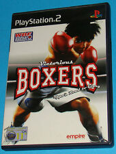 Victorious Boxers - Sony Playstation 2 PS2 - PAL