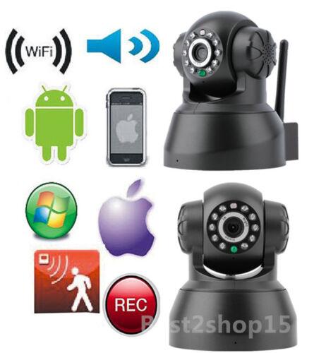2X Sricam Wireless P2P Home Network IP Webcam Security Camera WiFi IR Day Night