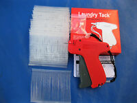Fine Tagging Gun & 1000 3 Clear Fine Plastic Barbs