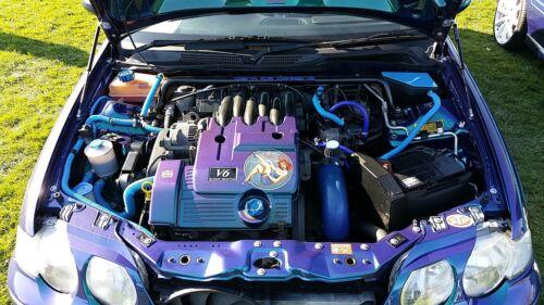 CNC Aluminium KV6 Engine Cap set  MG Rover 45 ZS 180 ACC.065-071