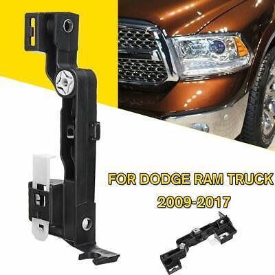 Headlight Lamp Mounting Brackets Driver /& Passenger for 09-17 Dodge Ram Truck