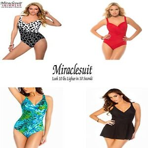 fc6db5903ff96 Image is loading Miraclesuit-Firm-Tummy-Control-Swimsuits -Various-Style-Colours-