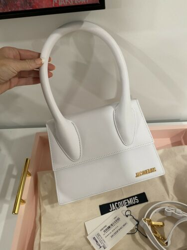 Jaquemus Le Grand Chiquito White Bag