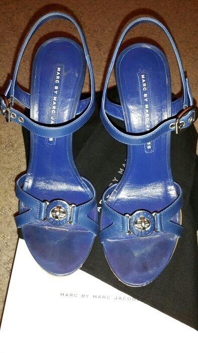 ORIGINALE Marc by Marc Jacobs Tacchi shoes sandali sandals Scarpe Tacchi Jacobs 38,5 + BOX 5b7dca