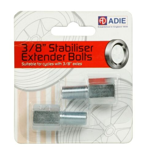 Adie Stabiliser Extender Bolts For Bikes with 3/8 Axles Bicycle Cycling