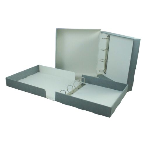 for long term archival storage Foolscap Library Ring Binder Boxfile