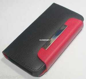 Flip-PU-Leather-Case-With-Screen-Protector-For-Apple-iPhone-4-4S