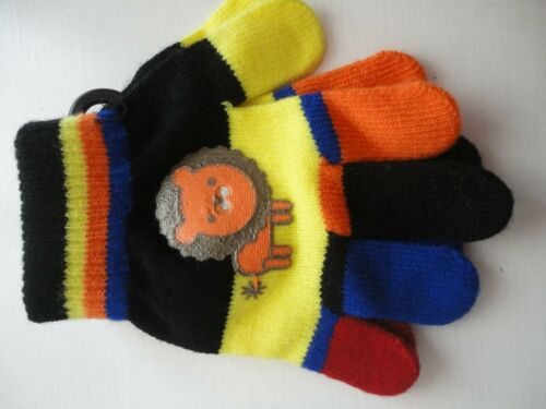 NEW WITH TAGS ACRYLIC CHILDRENS MAGIC GLOVES ONE SIZE,ANIMALS