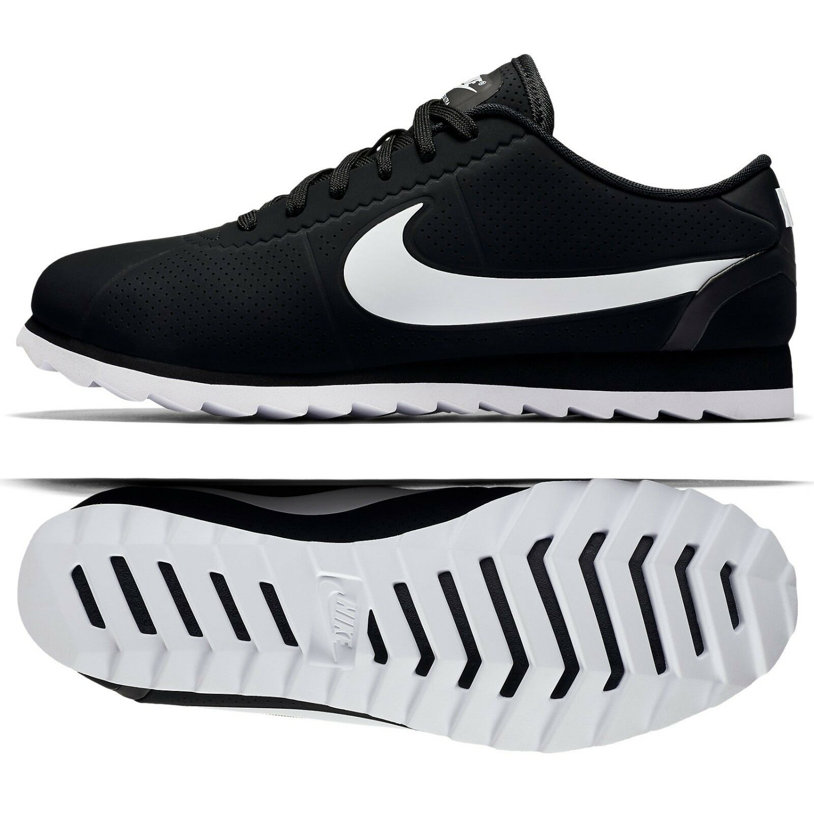 Nike W Cortez Ultra Moire 844893-001 Black/Black/White One-Piece Women's Shoes