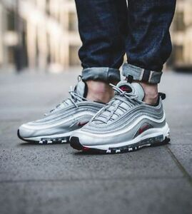 Cheap Nike Air Max 97 OG QS 884421 001 Silver