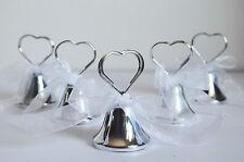 60x Campanelle tirabaci segnaposto matrimonio segnatavola campanella campana