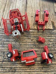 1984 Transformers G1 IRONHIDE Autobot car action figure Hasbro Takara Japan Part