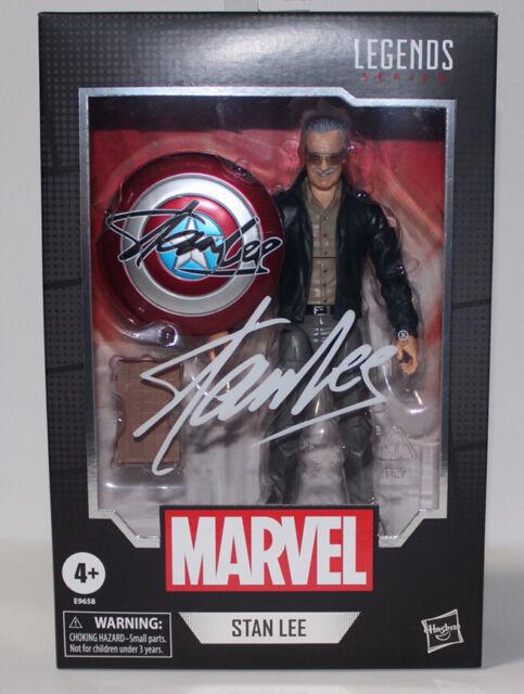"""STAN LEE Marvel Legends 6"""" Figure Avengers Appearance w/ Chessboard & Shield"""