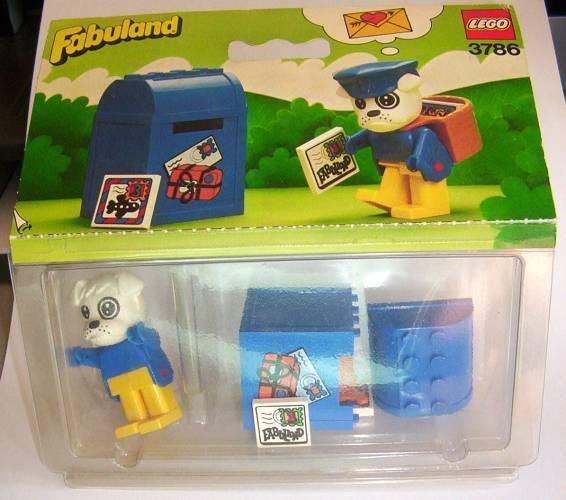 Nuevo Lego Fabuland Post Office 3786 Buzzy Bulldog el cartero